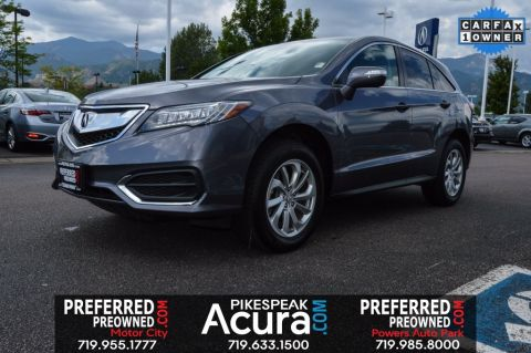 Pre-Owned 2017 Acura RDX Base AWD
