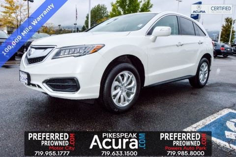 Certified Pre-Owned 2017 Acura RDX AWD with Technology Package 4D Sport Utility