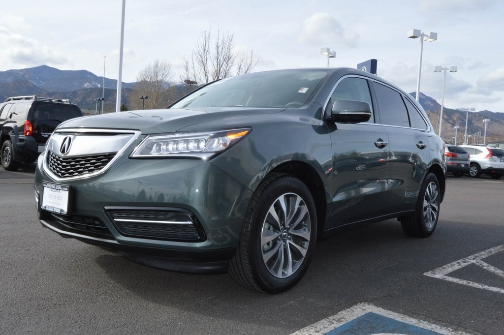 pre owned 2016 acura mdx tech 3 5l 4d sport utility in colorado springs p18695 pikes peak acura. Black Bedroom Furniture Sets. Home Design Ideas